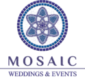 Mosaic Wedding Logo