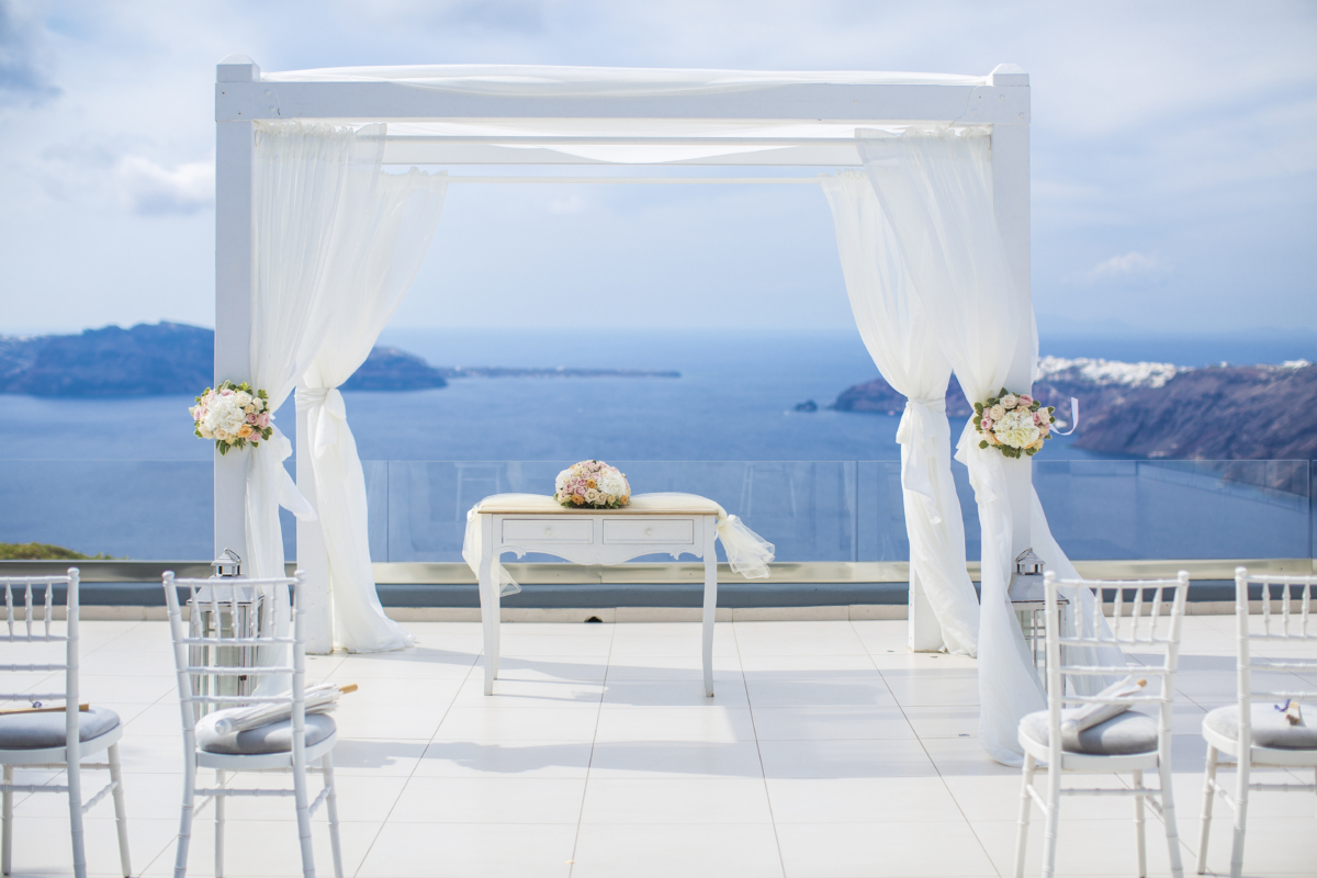 wedding venue greece